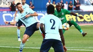 Лудогорец си върна първото място след икономично 1:0 срещу Дунав в Русе