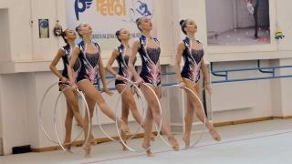 Вижте новия ансамбъл по художествена гимнастика (СНИМКИ+ВИДЕО)