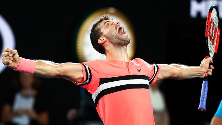 Григор Димитров продължава впечатляващото си представяне наAustralian Open, след като