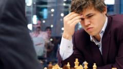 Карлсен излезе начело в турнира на претендентите