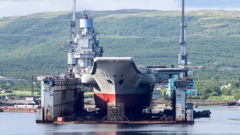 Корабът има нужда от сериозна модернизация и ще се върне на служба най-рано през 2021 г.