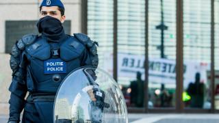 Задържаха 50 души в центъра на Брюксел