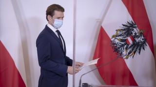 И Австрия въвежда повторен локдаун