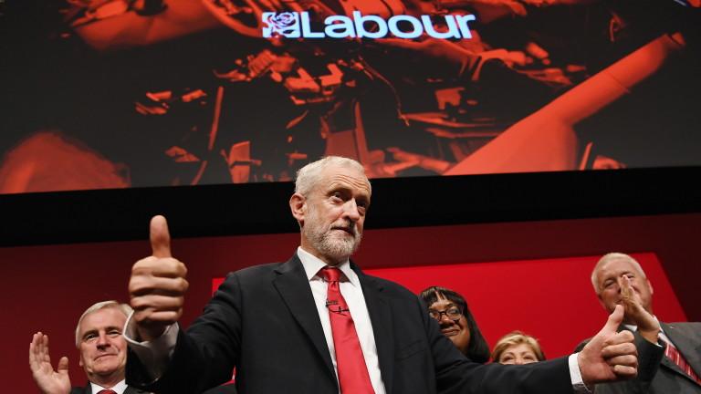 Лидерът на Лейбъристката партия Джереми Корбин заяви, че планът за