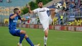 Левски - Етър 1:0 (Развой на срещата по минути)