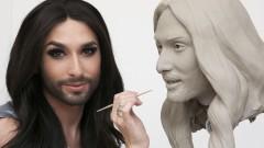 Вижте Кончита Вурст като мъж (Снимки)