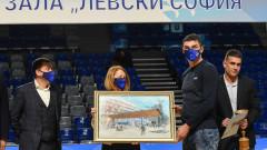 Новата зала на волейболния Левски беше официално открита