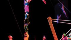 Руска люлка и спиращи дъха номера в Cirque Du Soleil
