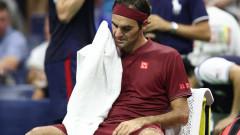 Роджър Федерер: Беше много горещо, нямаше циркулация на въздуха