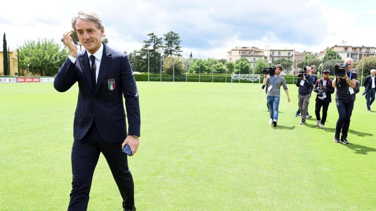 Роберто Манчини обяви състава на Италия за Лигата на нациите