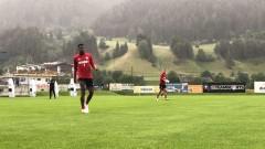 Вакер (Инсбрук) - ЦСКА 0:1 (Развой на срещата по минути)