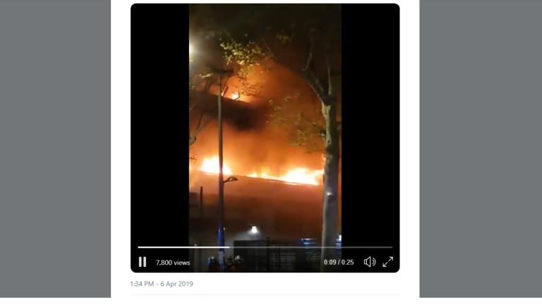 Взрив в Париж