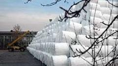 Пълнят с балиран боклук нова площадка в Кремиковци