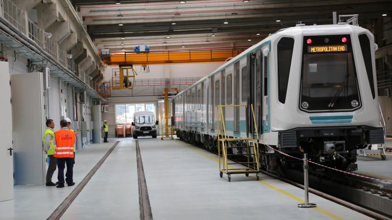 Първите пет станции от третата линия на метрото ще бъдат