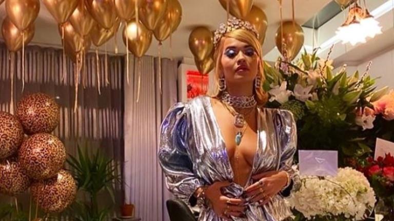 Наруши ли Рита Ора правилата заради рождения си ден