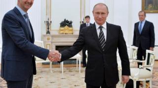 Асад се срещна с Путин в Москва