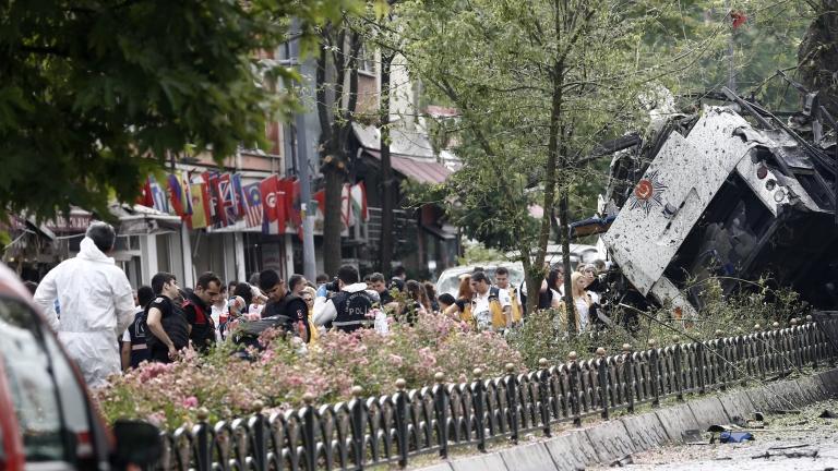 Четирима задържани за атентата в Истанбул