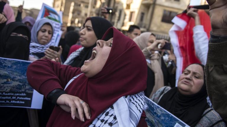 Първи смъртен случай в Палестина след решението на Тръмп за Йерусалим