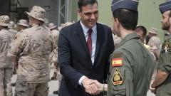 Тревога от руски военни самолети прекъсна пресконференция на премиера на Испания в Литва