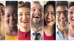 Как се смеят хората по света в чата