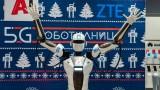 А1 показа 5G робот в София