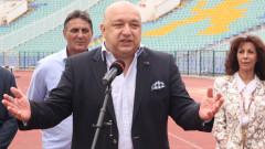 Министър Кралев: Трябва да пресечем заразата на футболното хулиганство