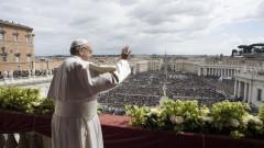 Папата призова за мир в Светите земи, конфликтът там не щади беззащитните