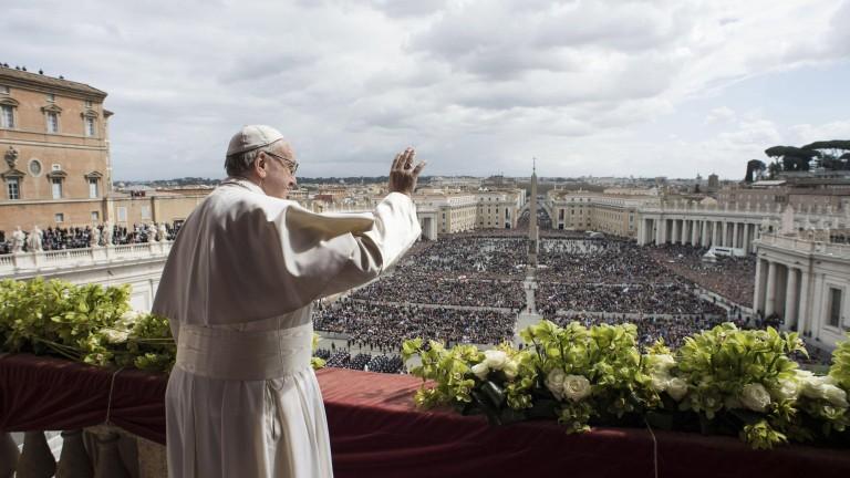 Папа Франциск призова за обединение на християните