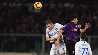 Фиорентина и Интер поделиха точките след зрелище с шест гола и ключови намеси на ВАР
