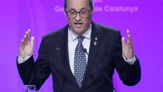 Лидерът на Каталуния пришпорва Испания за започване на преговори за независимост