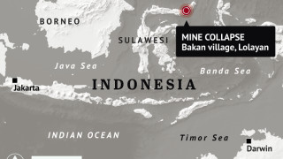 Трагедия в златна мина в Индонезия