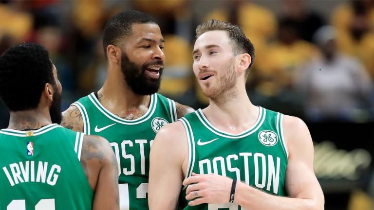 Бостън Селтик е първият отбор във втория кръг на плейофите в НБА