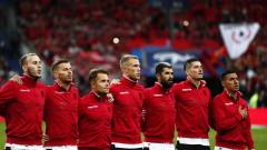 УЕФА глоби солено френската федерация заради объркания химн на Албания