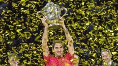 Роджър Федерер триумфира с титлата в Базел