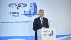 Столтенберг поиска укрепване на евроатлантическото единство срещу агресията на Москва