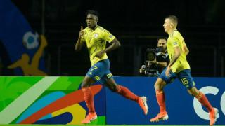 Колумбия пречупи Катар с гол в края