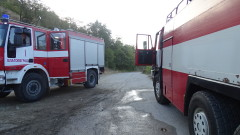 Камион се запали в движение на входа на шуменско село