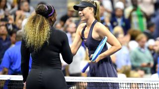 Серина Уилямс разгроми Мария Шарапова в първия ден на US Open 2019