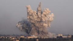 Военни самолети бомбардират близо до турски военен пост в Северозападна Сирия