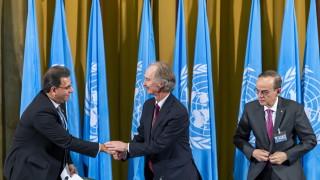 Първо заседание на Конституционната комисия за Сирия в Женева