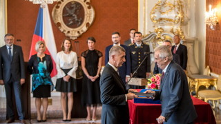 Чешкият президент за втори път връчи мандат на Бабиш