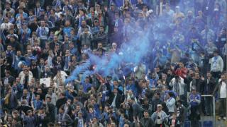 Нови глоби за Левски от УЕФА