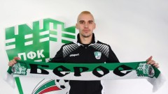 Никита Баранов: Берое ще ми помогне да се развия като играч, искам да бъдем сред топ отборите в България