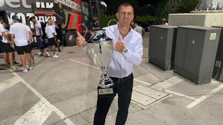 Акрапович: Радвам се, че започваме с такъв важен мач