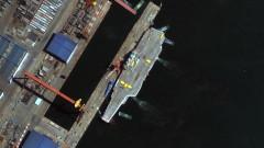 Китай изпрати новия си самолетоносач и бойни кораби в Южнокитайско море