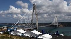 """Турция пусна """"инженерното чудо"""" - третият мост над Босфора"""
