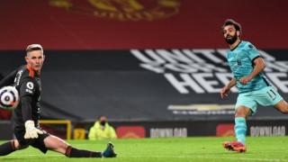 Салах е вторият футболист в историята на Ливърпул с любопитно постижение
