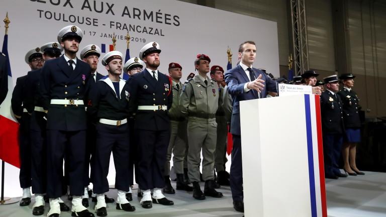 Франция ще запази военното си присъствие в Близкия изток през