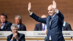 Джани Инфантино поздрави Михаил Касабов за празника