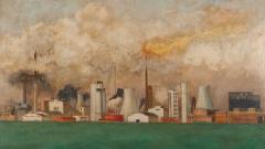 Индустриалният пейзаж в живописта през XX век